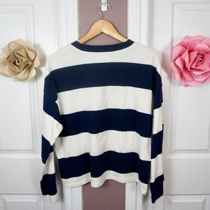 Madewell Tops - BNWT! Madewell | Easy Crop Long-Sleeve Tee
